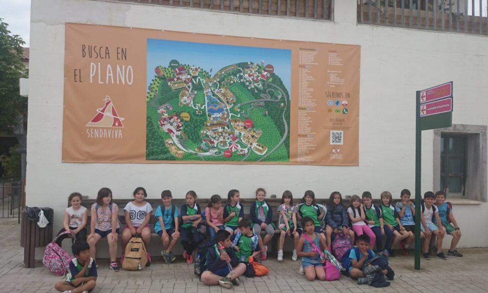 Excursión de Educación Primaria a Senda Viva