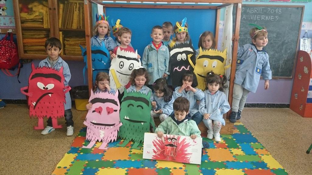 Apadrinamiento lector E. Primaria-E.Infantil. Clicar sobre la imagen para ver el vídeo resumen.
